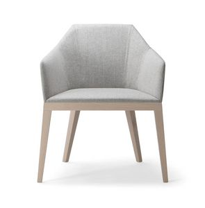 ROCK LOUNGE CHAIR 020 P, Armchair with lounge seat