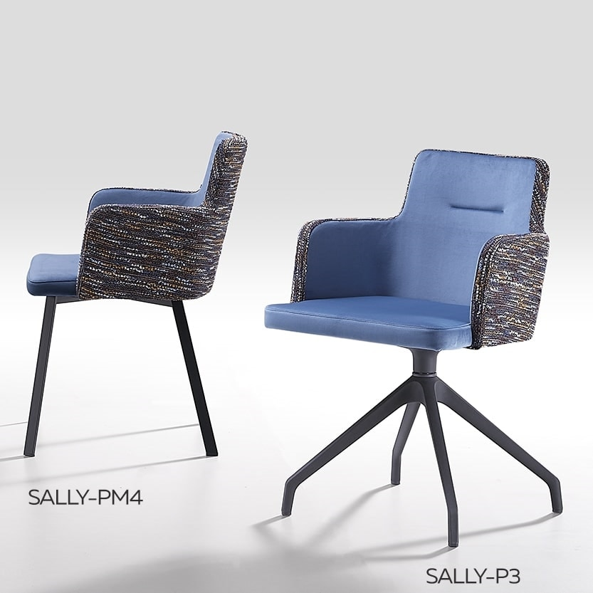 Sally-P, Chair with a modern design