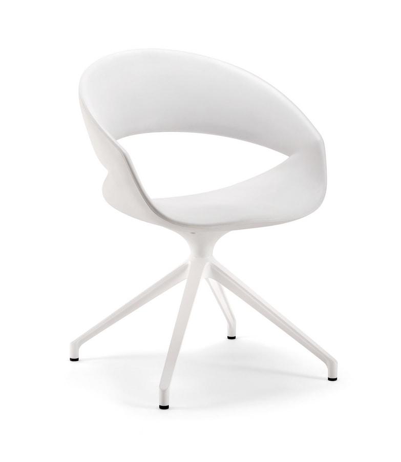 Spot 02 FLW, White waiting armchair