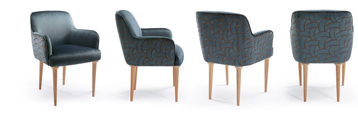 W01DC, Small armchair for dining room