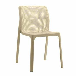 Anti UV Stackable Bar and Garden Kitchen Chairs NET - SN708PP, Stackable chair in resistant polypropylene