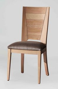 BS133S - Chair, Solid beech wood chair