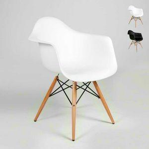 Chair DAW Eames armrests design kitchen bar waiting room - SD638PPL, Eames Daw chair