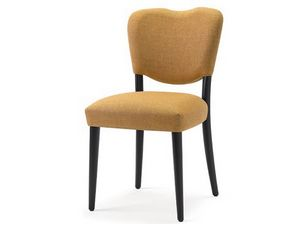Mia-S1, Chair with shaped backrest