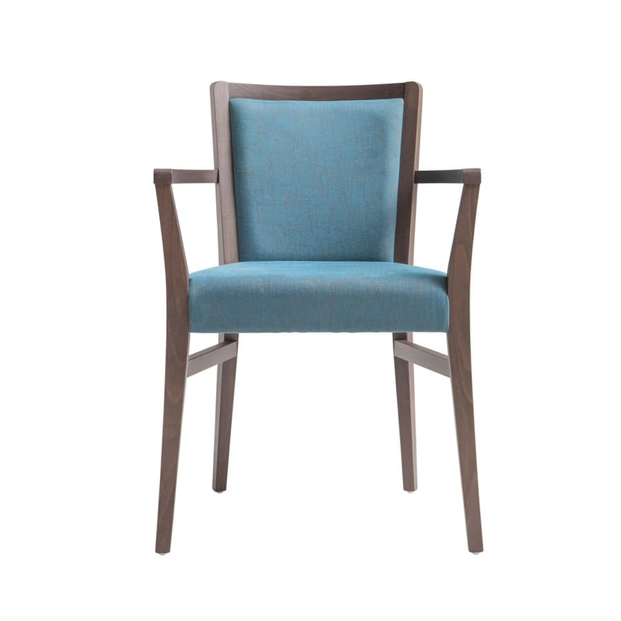 MP472HP, Modern chair with armrests for restaurant