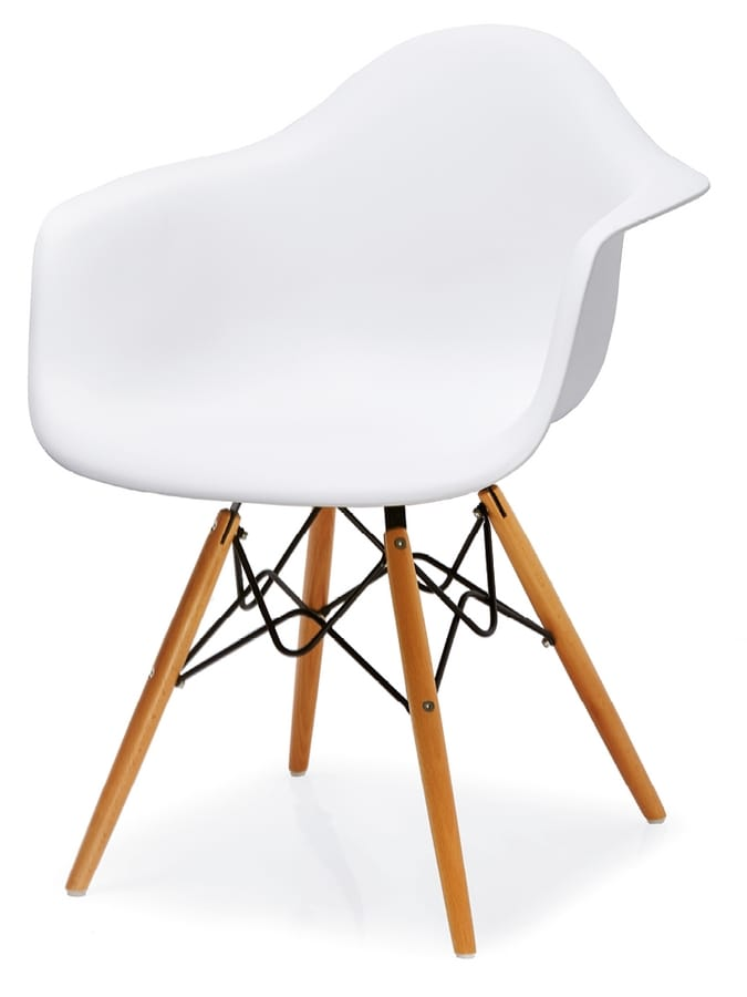 PL 507, Chair in polypropylene and beech wood