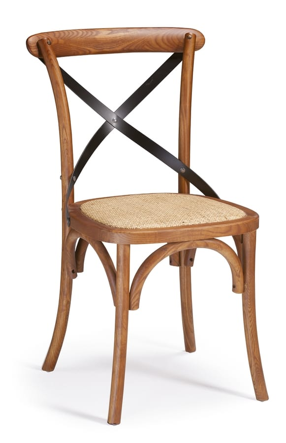 SE 431/M1, Wooden chair with an iron cross