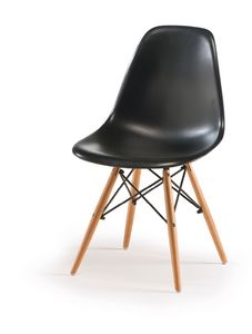 SE 507, ABS chair with beech legs