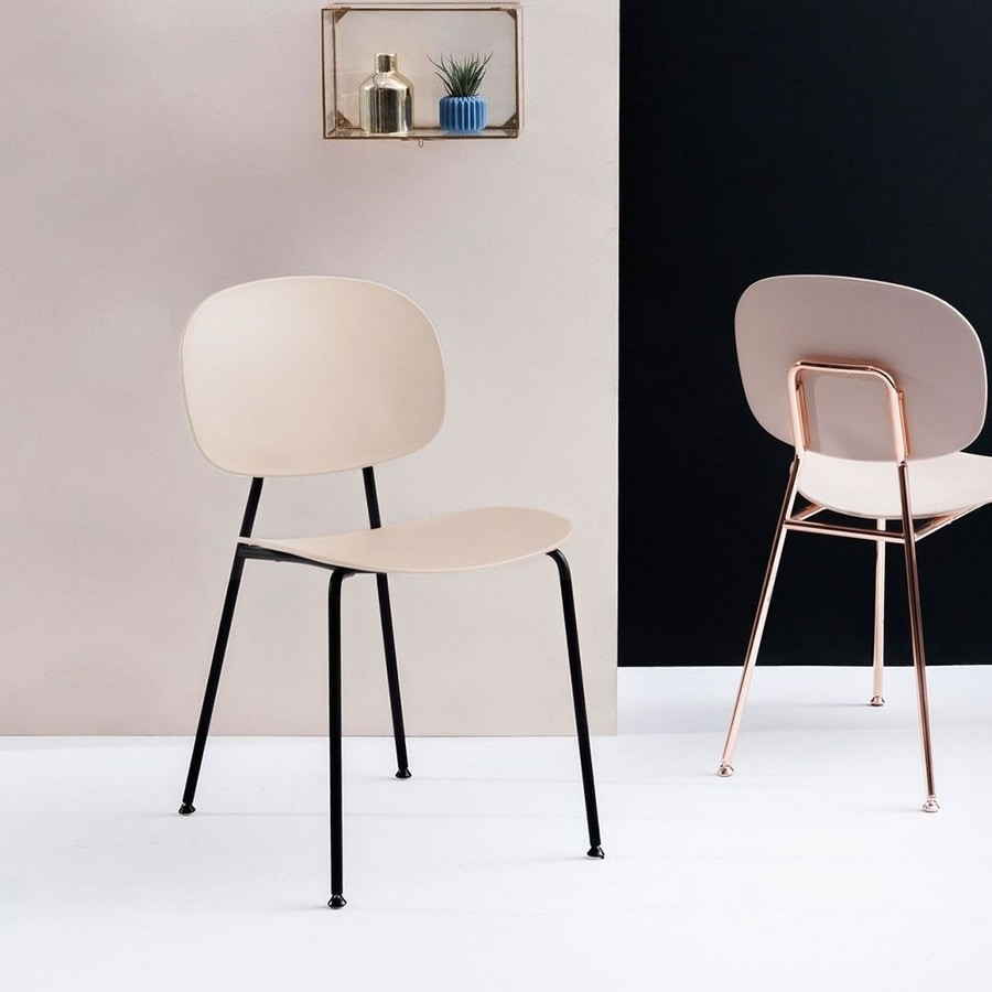 Tondina, Chair with oval back