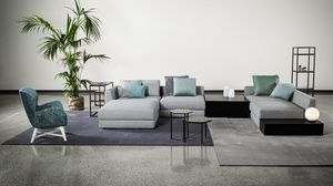 Adam, Modular sofa with a cosmopolitan look