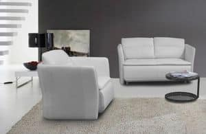 Affinity, Cozy sofa perfect for minimalists apartments or modern bedrooms