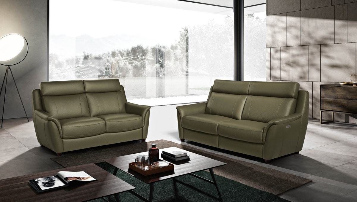 Affogato, Compact sofa with a rigorous style