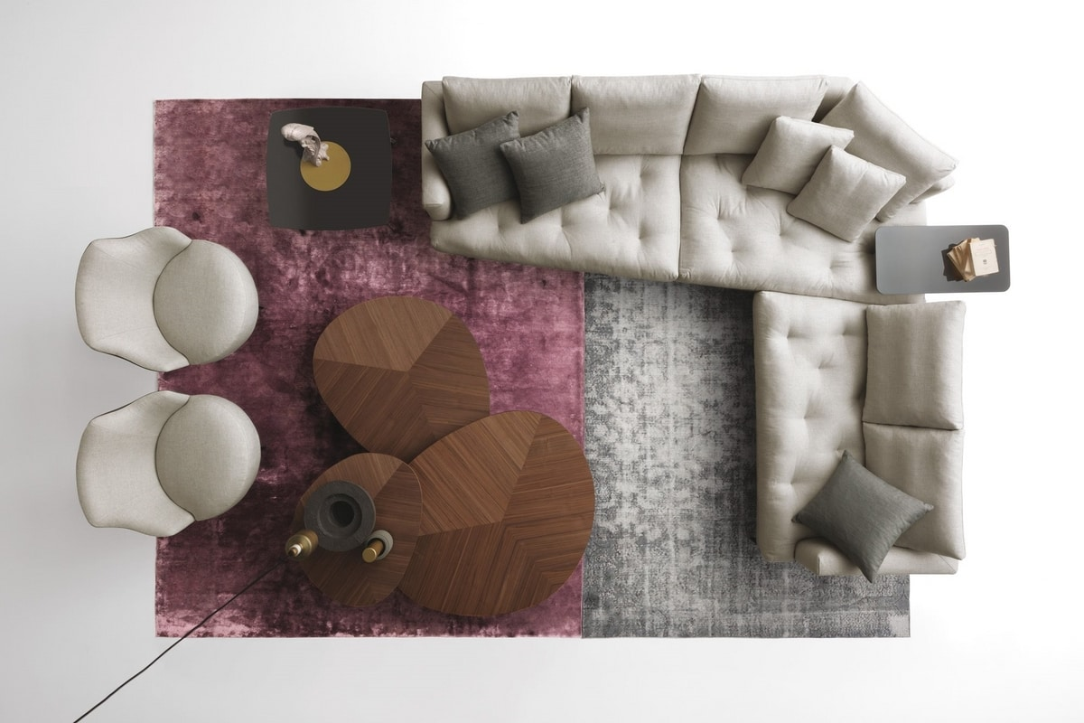 Alcove, Sofa with oblique backrest