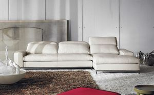 Aliante, Sofa with reclining backrest