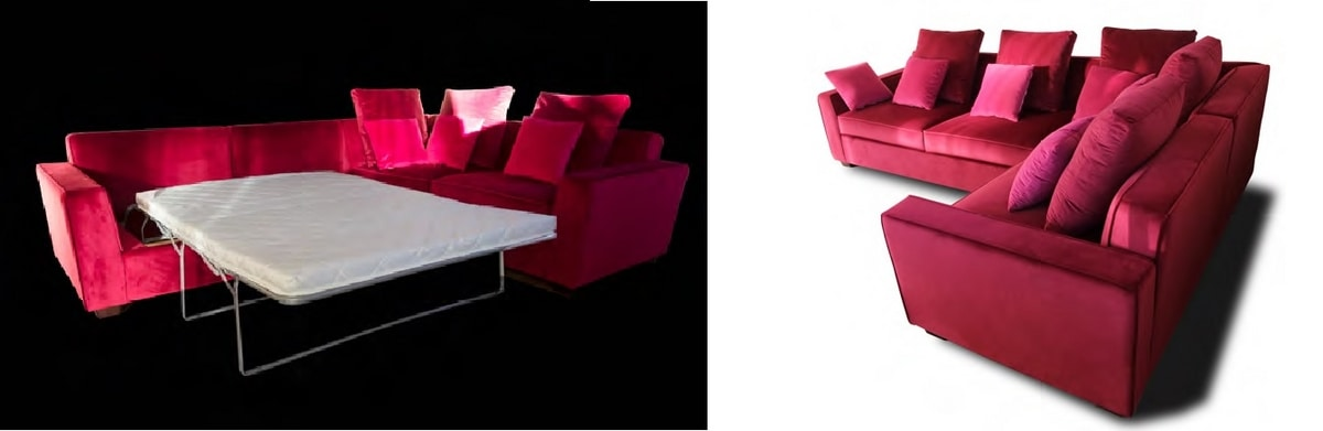 Angel, Customizable corner sofa