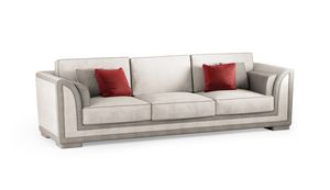 ART. 3334, Contemporary sofa, with quilted parts