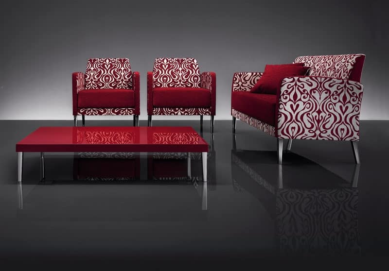 ART. 951 HOLLYWOOD SOFA, Linear sofas, for hotel and waiting areas