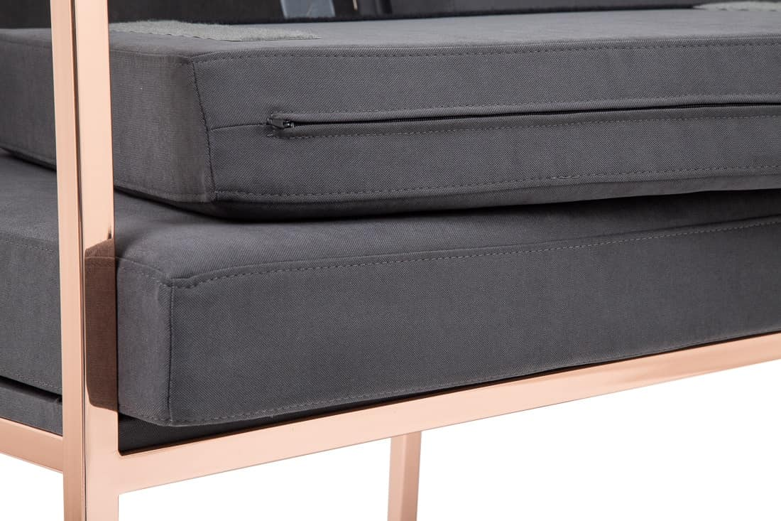 Art.Grace sofa, Modern couch for contract and office