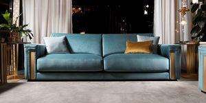 ATMOSFERA sofa, Precious sofa with refined finishes
