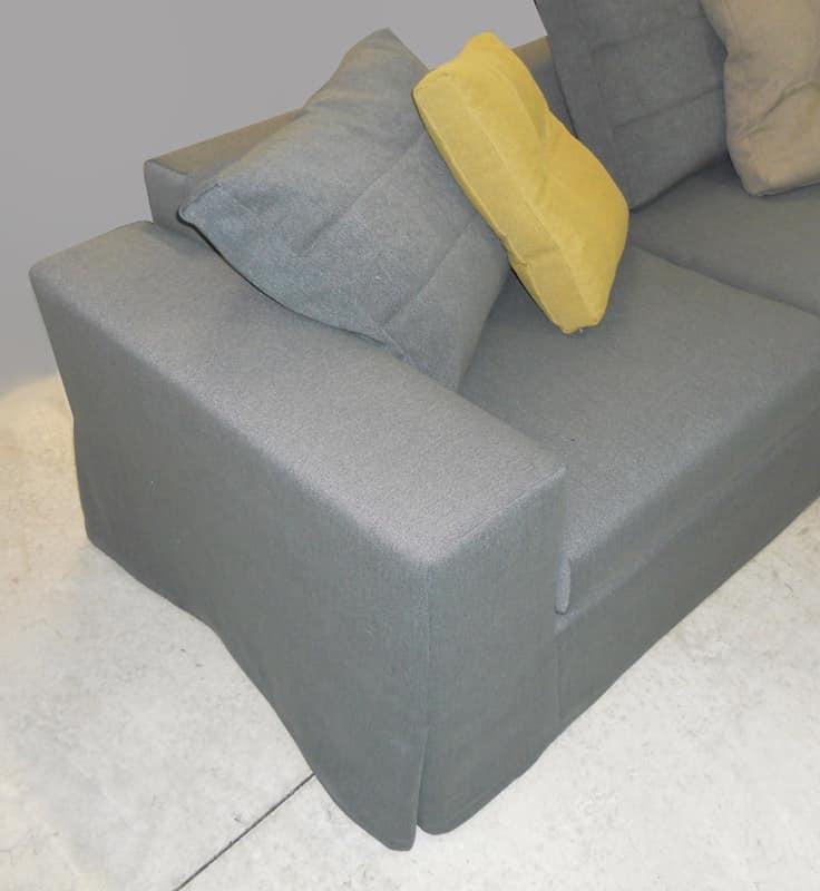 Beverly, Removable modular sofa, padded in polyurethane