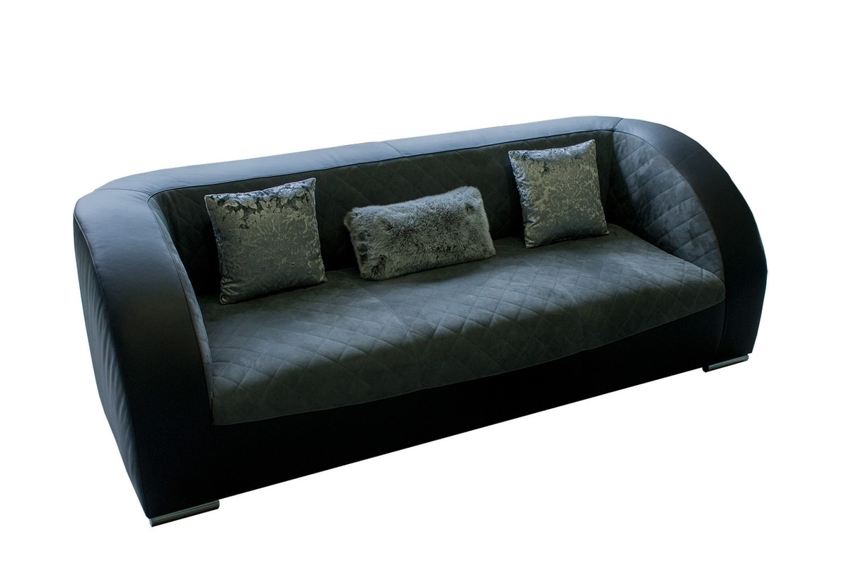 Botticelli, Modern sofa, which is distinguished by the softness of the seats