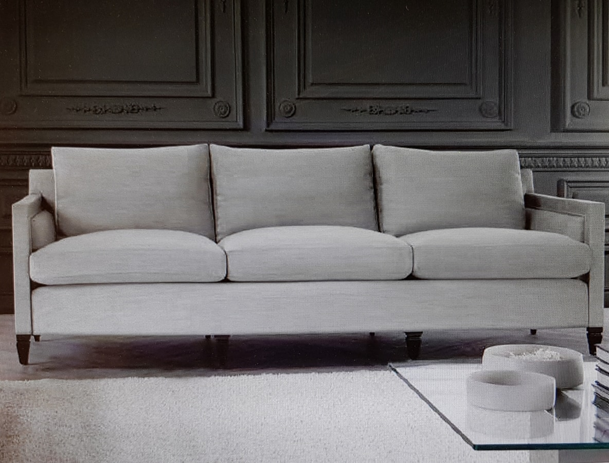 Edmond, 3-seater sofa, cushions with removable upholstery