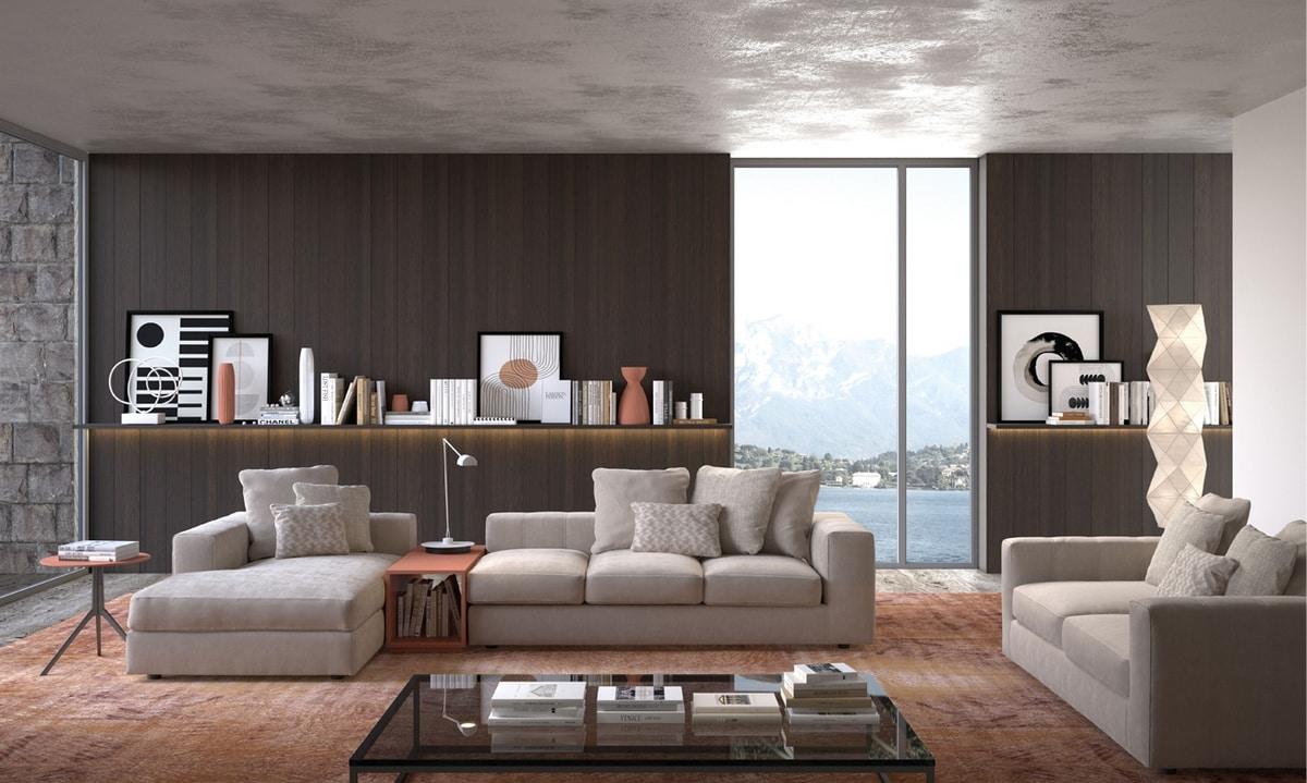 Bruce, Soft and comfortable modular sofa