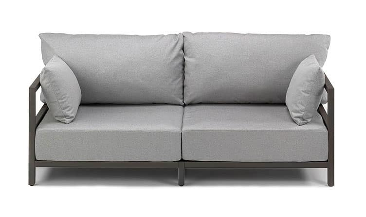 California Sofa San Diego, Sofa With Visible Aluminum Structure, With  Cushions