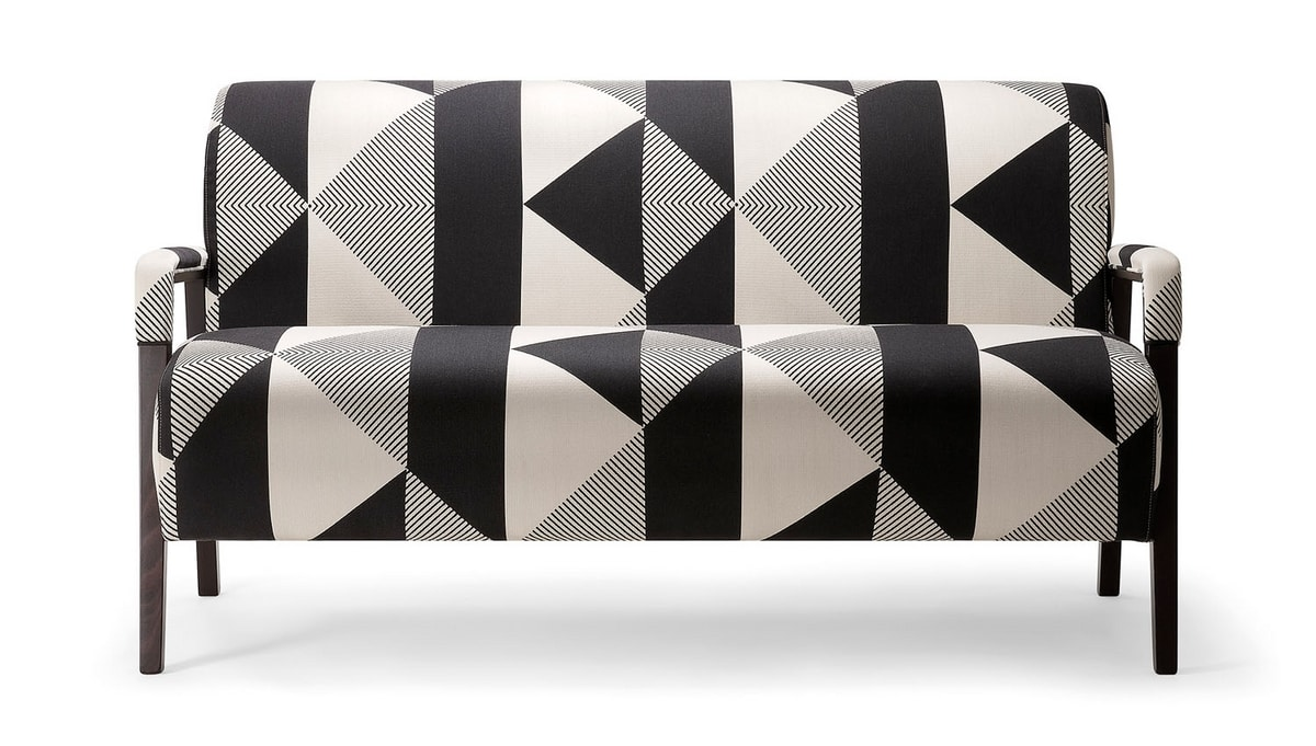 CARTER SOFA 068 D, Sofa for public spaces or hotel rooms