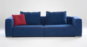 Cesar, Poplar sofa with interlocking elements