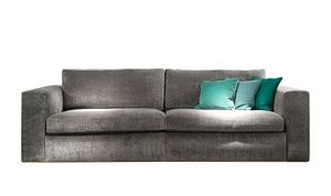 Ciro sofa, Modern sofa with squared lines