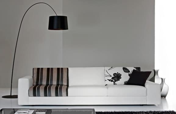 City Due, Elegant sofa, seat with different densities