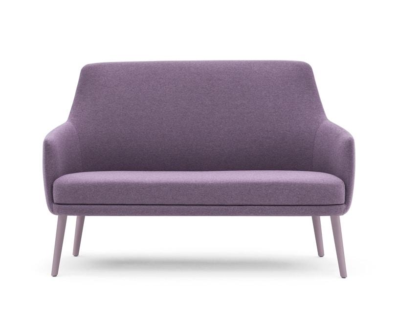 Danielle 03651, Two-seat sofa for waiting area sofa