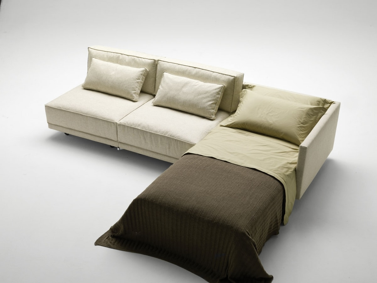 Dennis, Sectional sofa bed