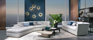 DI47 Theater sofa, Modular sofa with a modern design