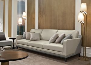 Dilan Art. D82 - D83, Sofa in wood and leather