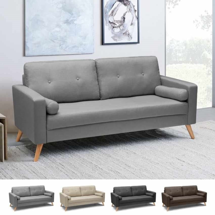 Scandinavian style sofa with large seat | IDFdesign
