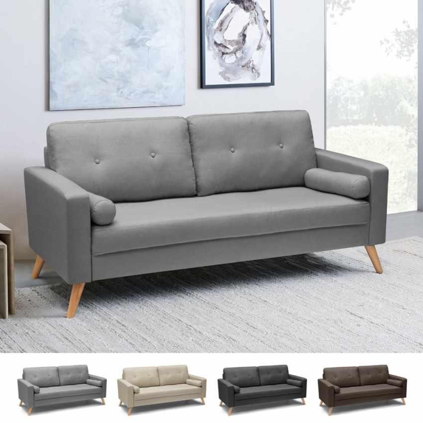 Divano Per Cucina Moderna.Scandinavian Style Sofa With Large Seat Idfdesign