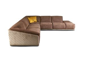 Dominique Velvet, Comfortable corner sofa