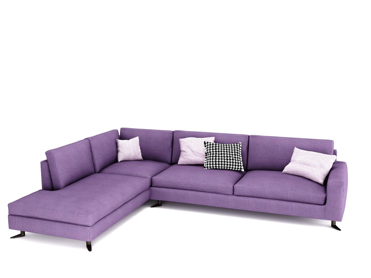 Duck, Elegant modular sofa, with removable upholstery