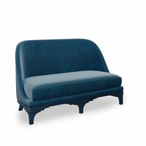 Duke Art. 740, Sofa with rounded shapes