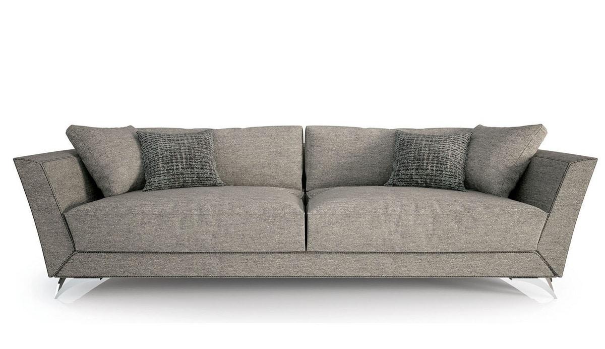 Eliot, Sofa with soft padding