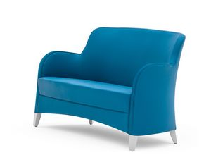 Euforia 00151, Two-seat sofa for waiting room