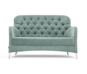Euforia 00151K, Small sofa with capitonn� back
