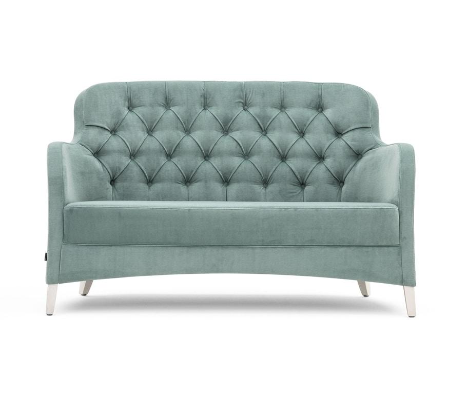 Euforia 00151K, Small sofa with capitonné back