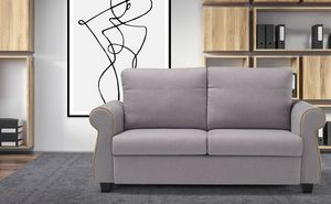 Federica, Sofa with soft shapes