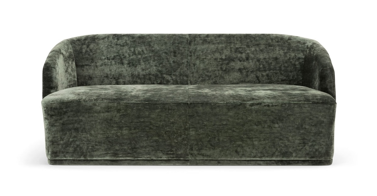 FRED SOFA 043 D, Sofa with a rounded shape