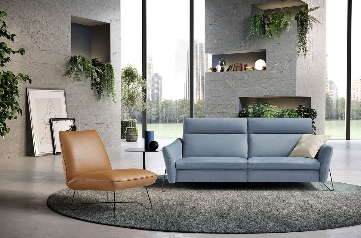 Gaia, Relax sofa with clean lines