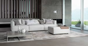 Ginevra, Modular sofas, with removable upholstery