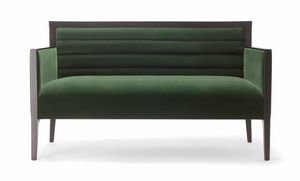 GINEVRA SOFA 031 D, Sofa with a rigorous design